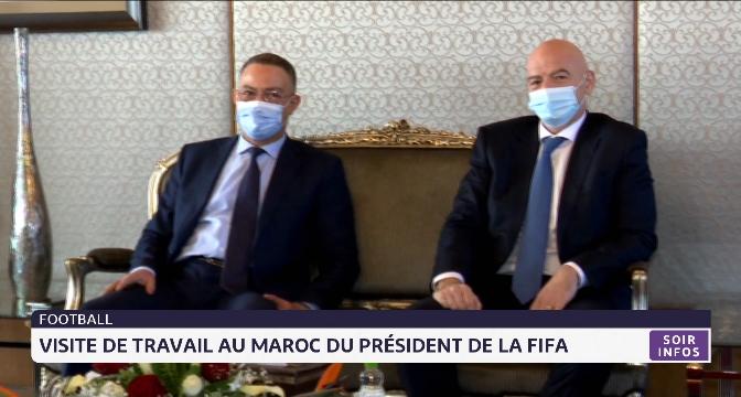 Le Maroc consolide ses relations avec la FIFA