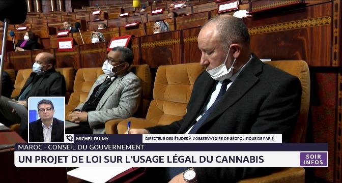 Maroc: le Conseil de gouvernement entame l'examen d'un projet de loi portant usage légal du cannabis
