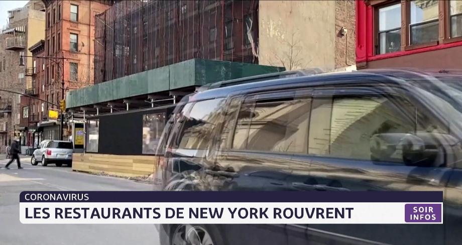 Coronavirus: les restaurants de New York rouvrent