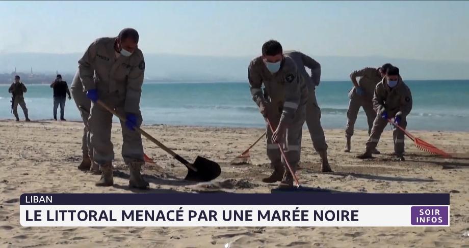 Liban: le littoral menacé par une marée noire
