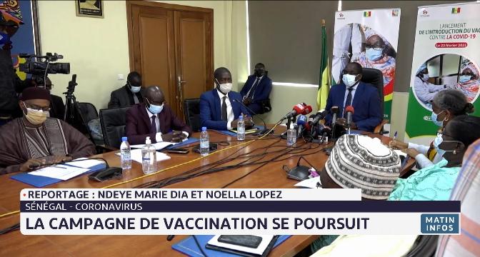 Sénégal: la campagne de vaccination se poursuit