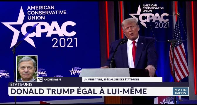 Etats-Unis: Donald Trump égale à lui-même