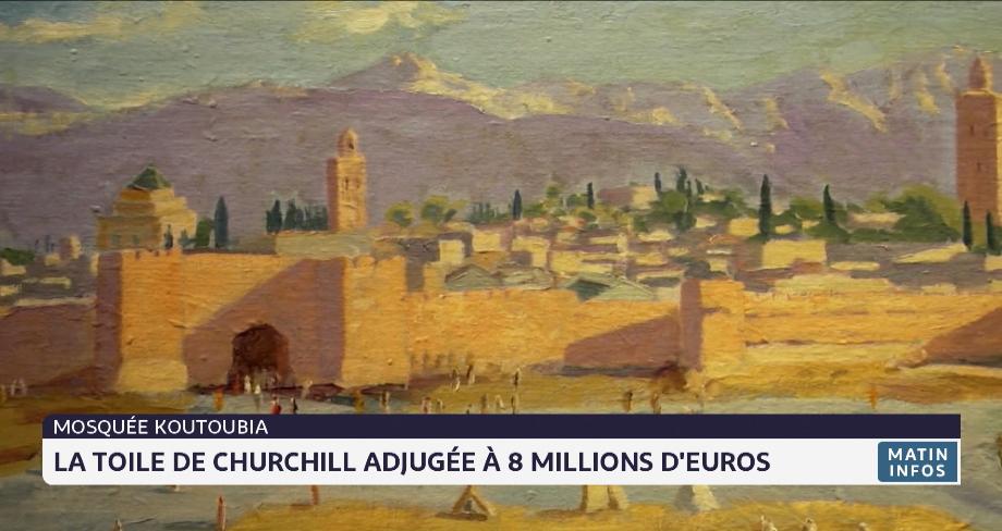 La toile de Churchill adjugée à 8 millions d'euros