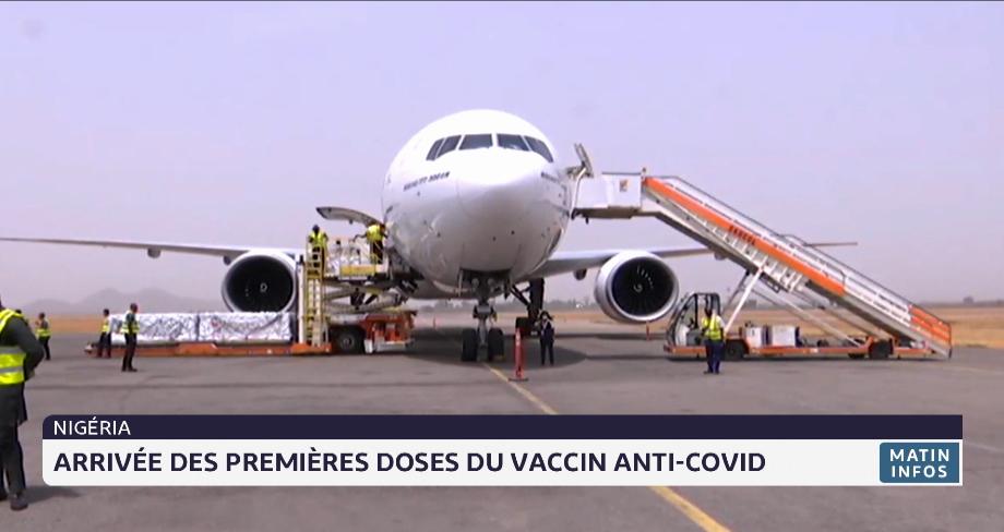 Nigeria: arrivée des premières doses du vaccin anti-Covid