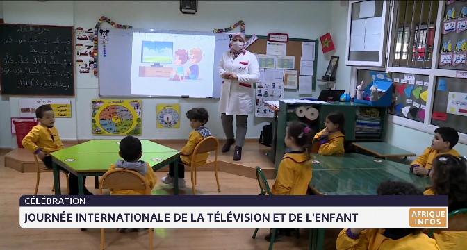 Célébration de la journée internationale de la télévision et de l'enfant