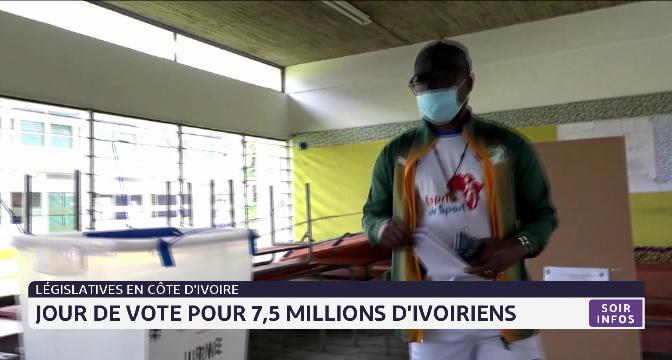 Législatives en Côte d'Ivoire: jour de vote pour 7,5 millions d'Ivoiriens