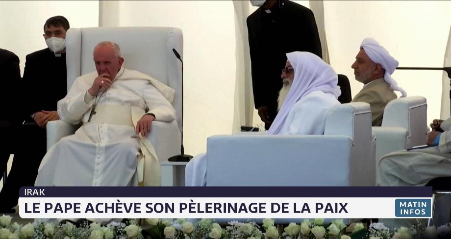 Irak: le Pape François achève son pèlerinage de la paix