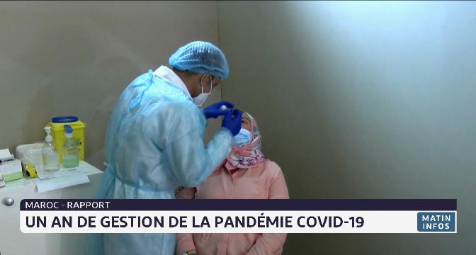 """Maroc: le gouvernement publie son rapport """"un an de gestion de la pandémie Covid-19"""""""