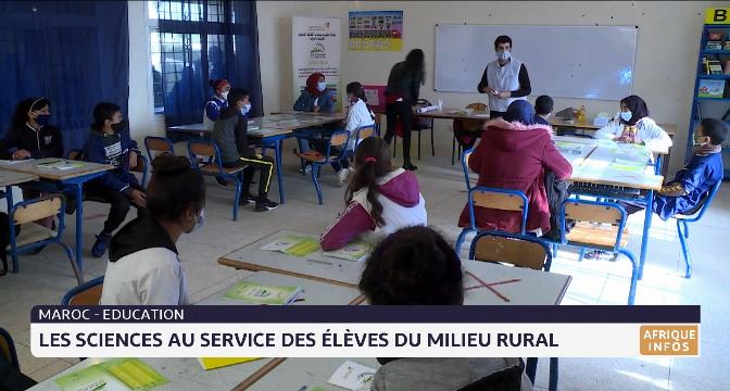 Maroc-Education: les sciences au service des élèves du milieu rural
