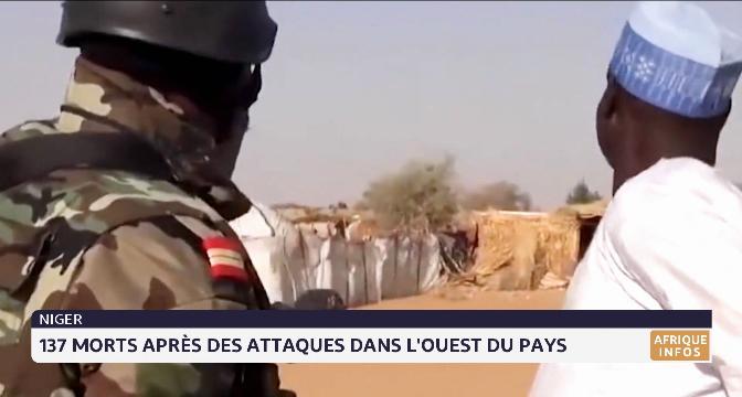Niger: 137 morts dans une nouvelle attaque