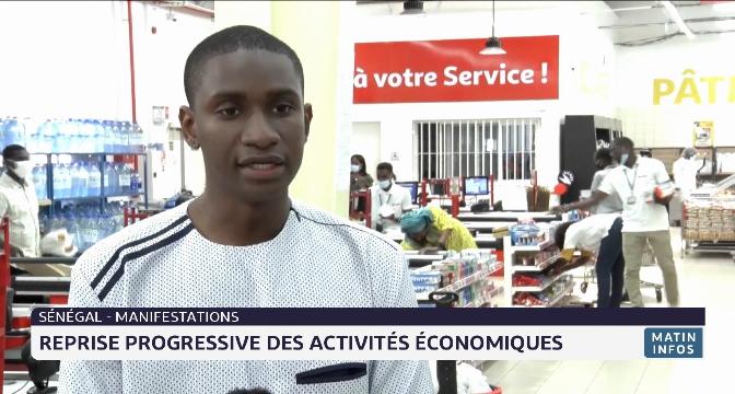 Sénégal: reprise progressive des activités économiques