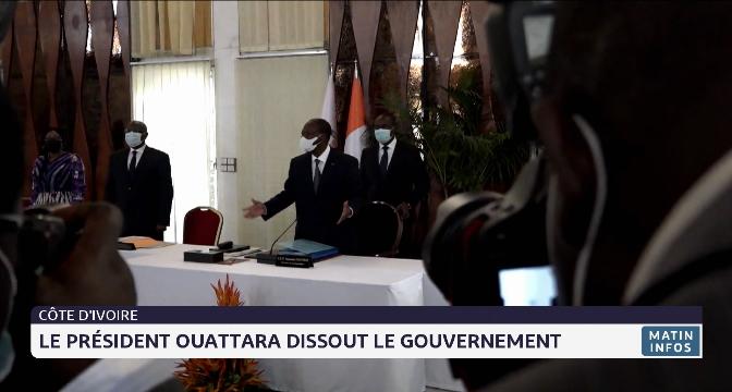 Côte d'Ivoire: le président Ouattara dissout le gouvernement