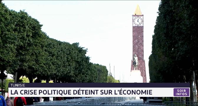 Tunisie: la crise politique déteint sur l'économie