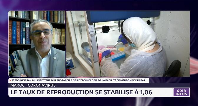 Covid-19 au Maroc: le taux de reproduction se stabilise à 1,06