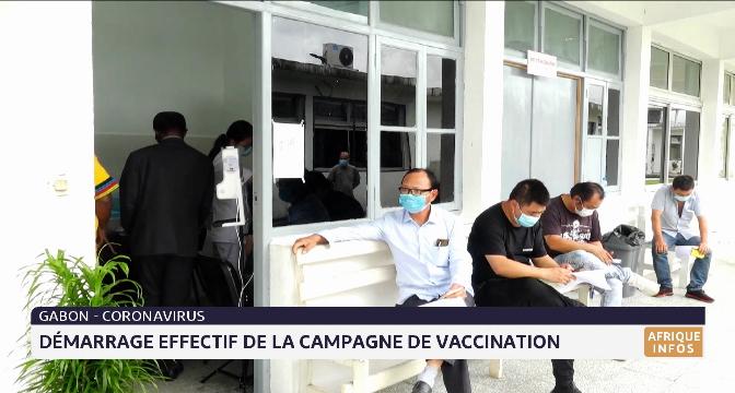 Gabon: démarrage effectif de la campagne de vaccination contre le coronavirus