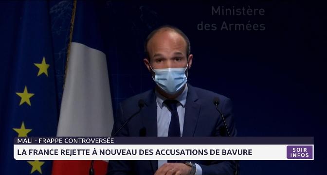 Mali-Frappe controversée: la France rejette à nouveau des accusations de bavure