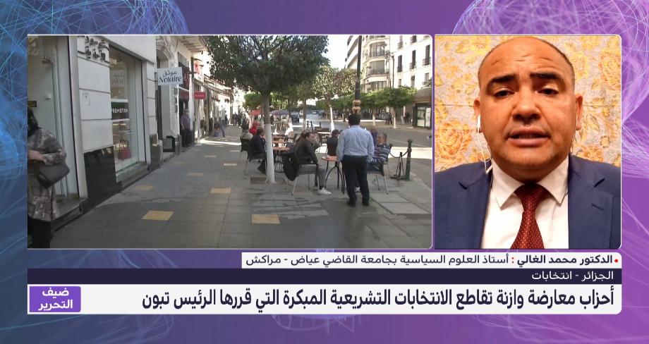 أحزاب الجزائر تقاطع الانتخابات التشريعية .. تحليل محمد الغالي