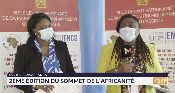Maroc-Casablanca: zoom sur le deuxième sommet de l'africanité avec Laetitia Mangle Evandé