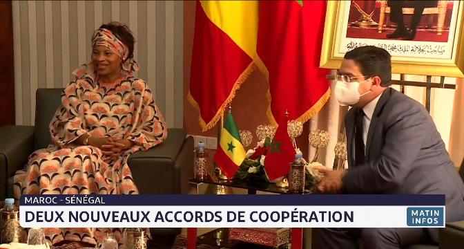 Maroc-Sénégal: deux nouveaux accords de coopération