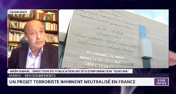 Maroc-renseignements: un projet terroriste imminent neutralisé en France