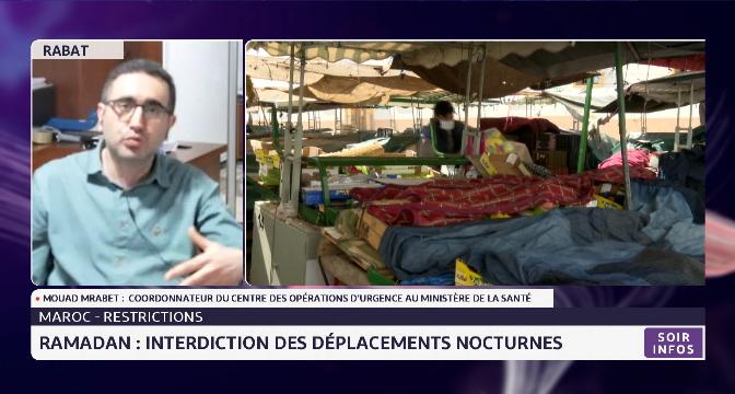 Interdiction des déplacements nocturnes durant le Ramadan: Mrabet explique les raisons des nouvelles restrictions