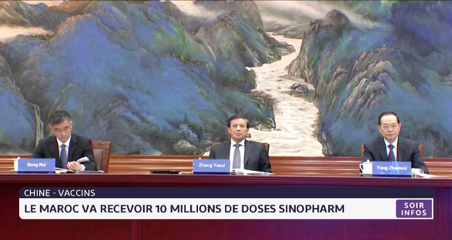 Coronavirus:  la Chine va livrer au Maroc 10 millions de doses du vaccin Sinopharm