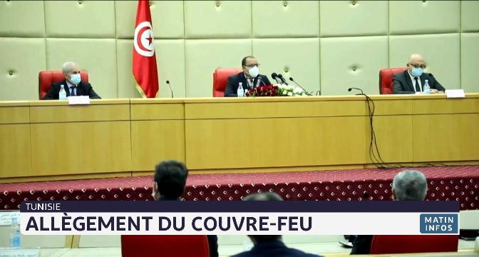 Tunisie: allègement du couvre-feu