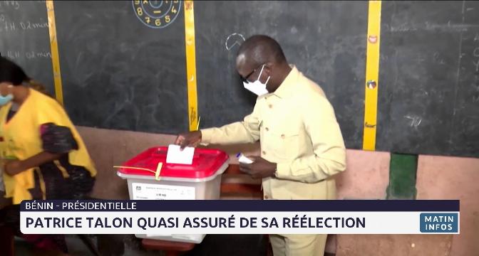 Bénin-présidentielle: Patrice Talon quasi assuré de sa réelection