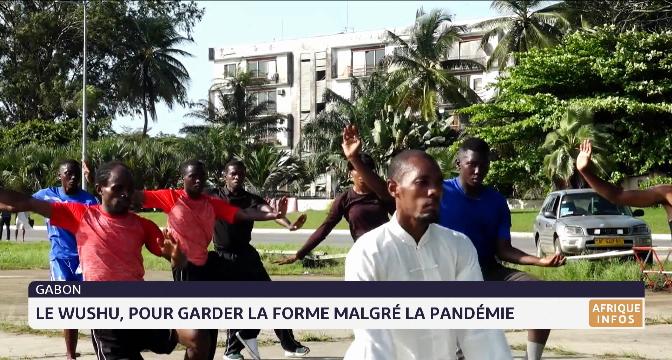 Gabon: le Wushu, pour garder la forme malgré la pandémie