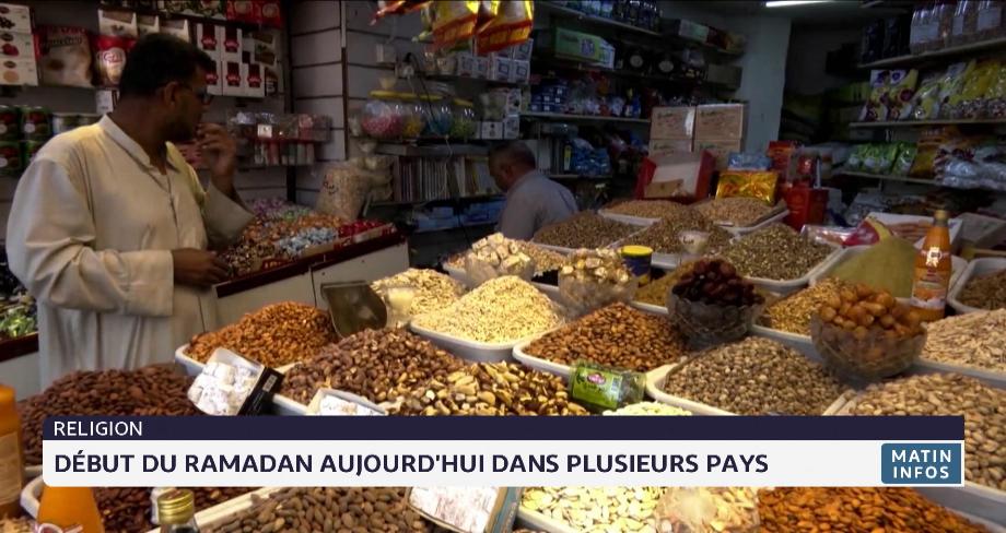 Début du Ramadan ce mardi dans plusieurs pays