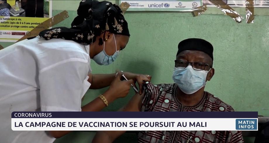 Coronavirus: la campagne de vaccination se poursuit au Mali