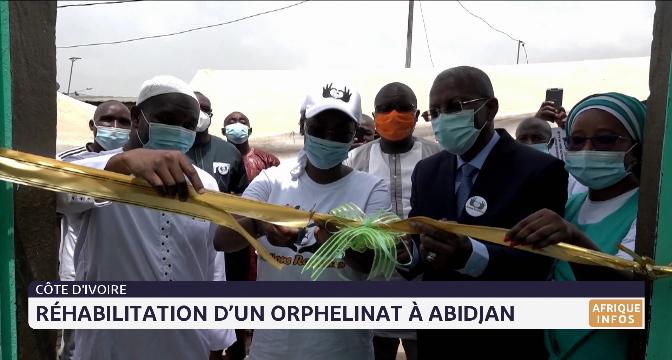 Côte d'Ivoire: réhabilitation d'un orphelinat à Abidjan