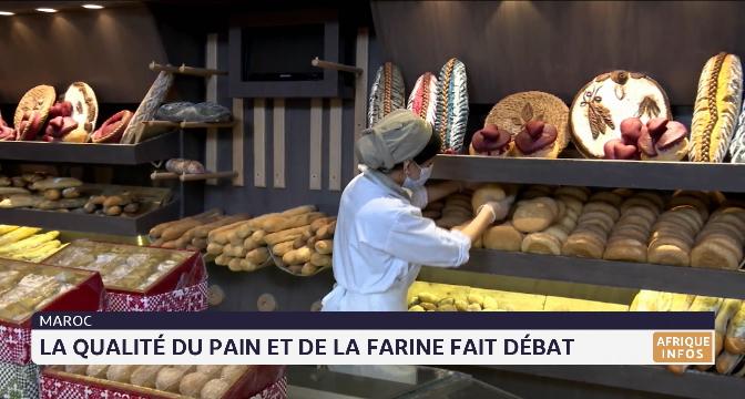 Maroc: la qualité du pain et de la farine fait débat