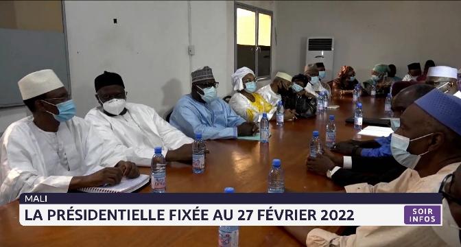Mali : la présidentielle fixée au 27 février 2022