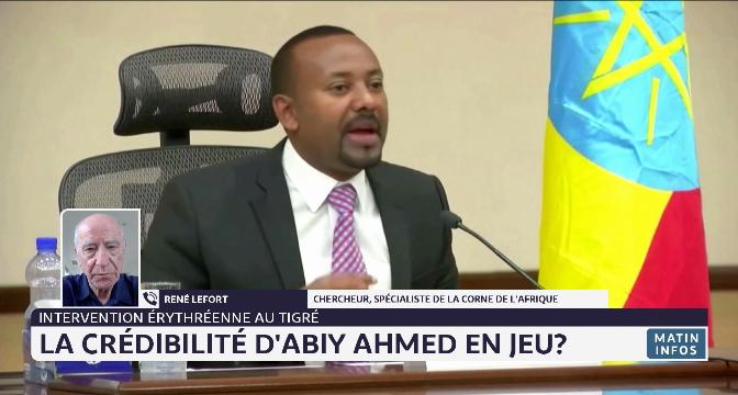 Éthiopie: l'Érythrée admet la présence de ses troupes au Tigré