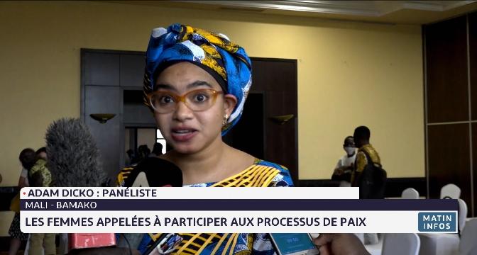Bamako: les femmes appelées à participer aux processus de paix