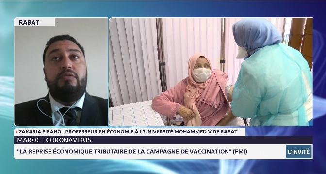 Reprise économique et campagne de vaccination avec Zakaria Firano, professeur en économie
