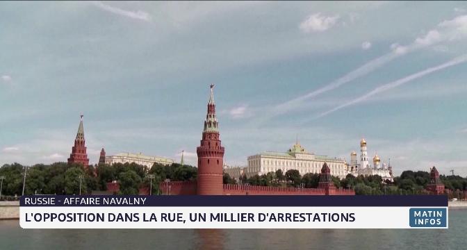 Russie: l'opposition dans la rue, un millier d'arrestations