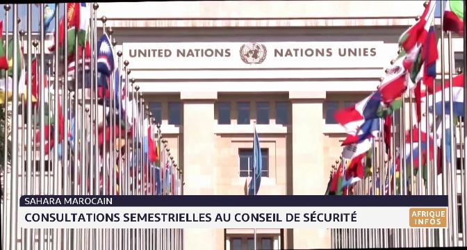 Sahara marocain:  consultations semestrielles au Conseil de Sécurité