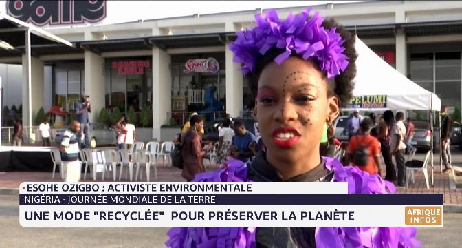 """Nigeria: une mode """"recyclée"""" pour préserver la planète"""