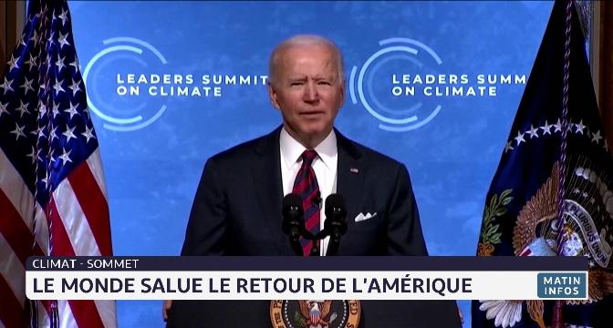 Sommet sur le climat: le monde salue le retour des États-Unis