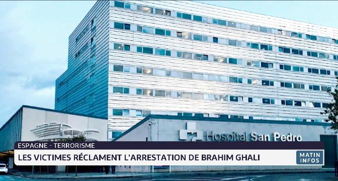 Espagne: les victimes réclament l'arrestation de Brahim Ghali