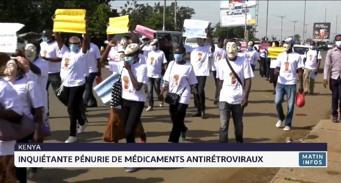 Kenya: inquiétante pénurie de médicaments antirétroviraux