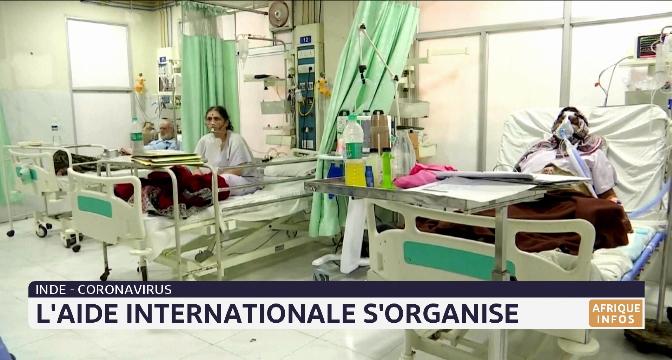 Coronavirus en Inde: l'aide internationale s'organise