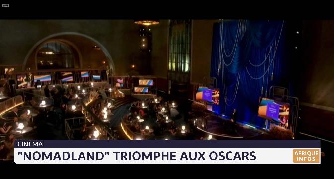"Cinéma: ""Nomadland"" triomphe aux Oscars"