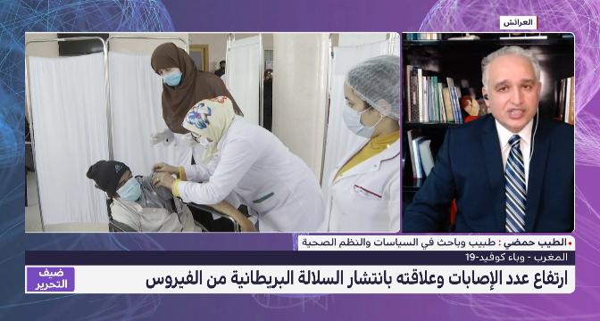الطيب حمضي يقدم  قراءة في الوضعية الوبائية بالمغرب على ضوء المتغيرات المرتبطة بظهور سلالات جديدة