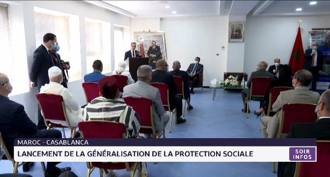 Lancement de la généralisation de la protection sociale