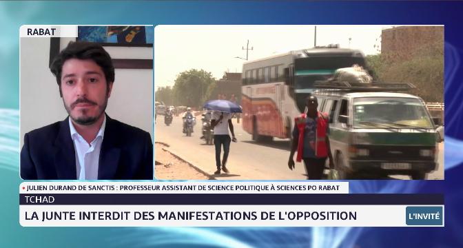 Quel avenir pour le Tchad après la mort de Idriss Déby ? Réponse de Julien Durand de Sanctis