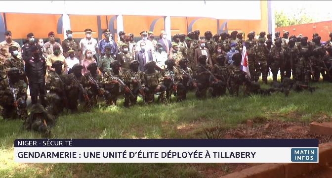 Niger: une unité d'élite de gendarmerie déployée à Tillabery