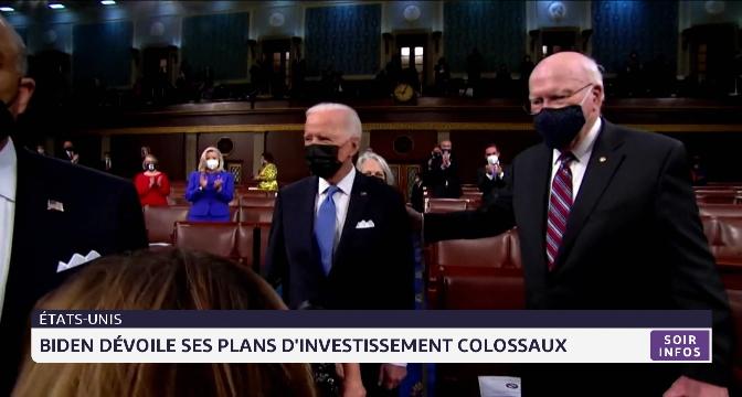 États-Unis: Biden dévoile ses plans d'investissement colossaux
